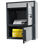 Safepost 921 TIAMAT Briefkasten mit Paketfach anth