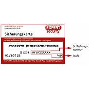 ABUS Wavy Line pro Nachzylinder n. Sicherungskarte