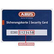 Abus EC660 Nachzylinder nach Sicherungskarte