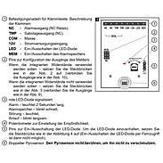 Satel Ivory PIR-Bewegungsmelder 90° Spiegeloptik