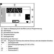 Satel TD-1 Temperaturmelder Schwellenwertprogramm