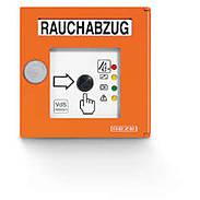 GEZE RWA-Taster FT4 orange - VdS-Zulassung 24 V DC