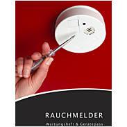 Rauchmelder Gerätepass und Wartungsheft (13Jahre)
