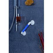 Bad Kunststoff-Haltegriff geriffelt blau 300 SB