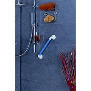 Bad Kunststoff-Haltegriff ergonomisch blau 450 SB