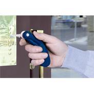 Schlüsseldrehhilfe blau Kunststoff