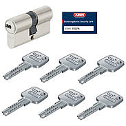 Abus EC660 45/45 Doppelzylinder vs. + 6 Schlüssel