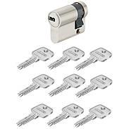 Abus EC550 10/30 Halbzylinder vs. + 9 Schlüssel