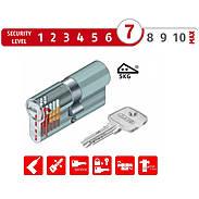Abus EC550 10/30 Halbzylinder vs. + 6 Schlüssel