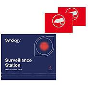 Synology Synology 4x Device License + 2x Videoaufkleber 50000089 Bild1