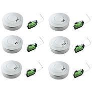 6er Ei Electronics Ei650W Rauchmelder+ Funkmodul