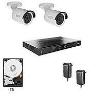 Abus HD Überwachungssystem 2x Kameras + Rekorder