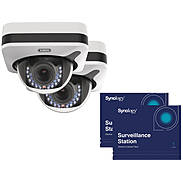 2x ABUS IP-Kamera IPCB72520 1080p +Synology Lizenz