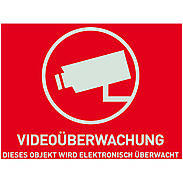 4er ABUS IP-Kamera Set IPCB42501 1080p + Aufkleber