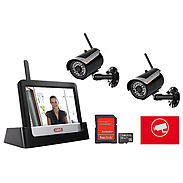 ABUS Video-Set TVAC16001A mit 2 Funkcams + 32SD
