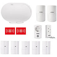 ABUS Abus Smartvest Funk-Alarmanlagen-Set für Haus 50001663 Bild1