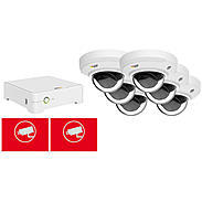 Axis Companion Set 6x Dome V + Rekorder 4TB Innen