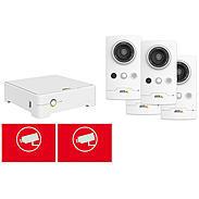 Axis Companion Set 4x Cube L + Rekorder 4TB Innen