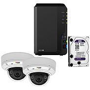 Synology IP-Kamera Set M3024-LVE + DS218+