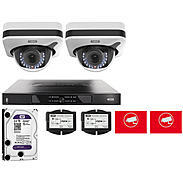 Abus Video Set 2x Abus IPCB71500 + 5-Kanal NVR