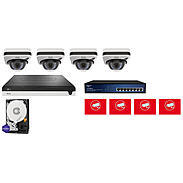 ABUS Video Set 4x ABUS IPCB72501 + 5-Kanal NVR