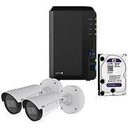 Synology IP-Kamera Set P1425-LE MKII + DS218+