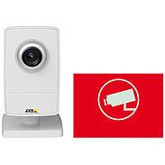 Axis IP-Kamera Set M1004-W + Aufkleber