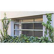 2er Set Abus FGI5450 Fenstergitter 500-650x450mm