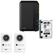 Synology IP-Kamera Set M1045-LW + DS216+II
