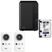 Synology IP-Kamera Set M1065-LW + DS216+II