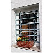2er Fenstergitter Secorino Style vz 1000-1500x450