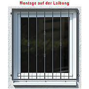 Tiamat Fenstergitter Einbruchschutz Basic II