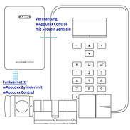 Abus Alarm-Set Secvest Touch + wAppLoxx Zylinder