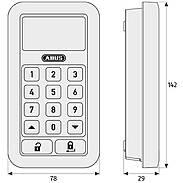 Abus HomeTec Pro FCA3000W Antrieb + Tastatur