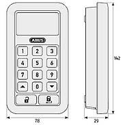ABUS HomeTec Pro FSA3550W Antrieb + Tastatur