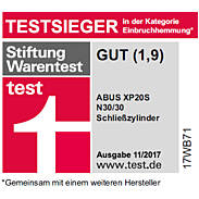 2er Abus XP20S 30/40 Doppelzylinder gl. + 6 Schl.