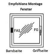 Abus FG300 B + Abus FAS101 B Fenstersicherung Set