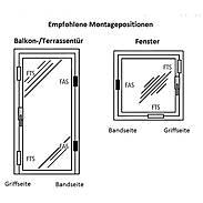 Abus FTS88 W + Abus FAS101 W Fenstersicherung Set