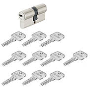 Abus EC550 30/30 Doppelzylinder vs. + 10 Schlüssel