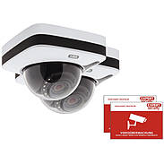 2er ABUS IPCA72500 IP-Dome 1080p T/N + Aufkleber