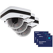 3er ABUS IPCA72500 IP-Dome 1080p T/N + Lizenz