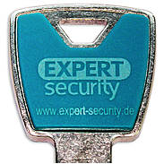 Expert-Security XP20S Design-Clip Set türkisblau