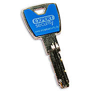 Expert-Security XP20S Design-Clip Set lichtblau