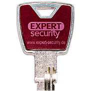 Expert-Security XP20S Design-Clip Set violett