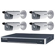 HIKVision IP Set 4x DS-2CD2T85FWD-I8 + Rekorder