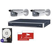 HIKVision IP Set 2x DS-2CD2T85FWD-I5 + Rekorder