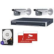 HIKVision IP Set 2x DS-2CD2T83G0-I5 + Rekorder