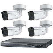 HIKVision IP Set 4x DS-2CD2655FWD-IZS + Rekorder
