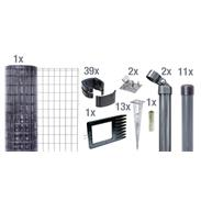 Fix-Clip Pro Set EBH, anthrazit, hoch 1020mm - 25m