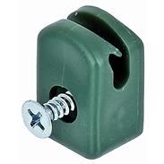 GAH Spanndrahthalter mit Schraube, grün